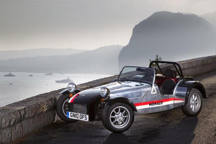 Caterham Seven RoadSport 125 Monaco Edition.