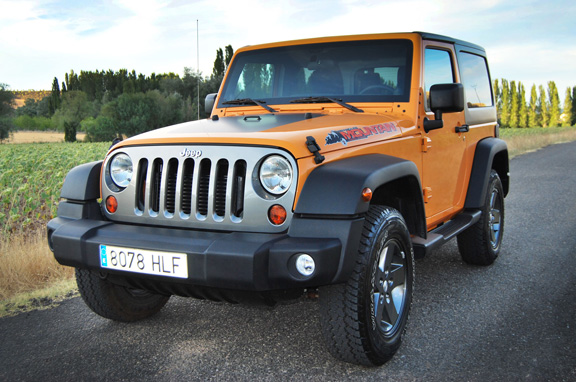 Jeep Wrangler Mountain, lo probamos