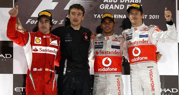 F1: Hamilton gana el GP de Abu Dhabi