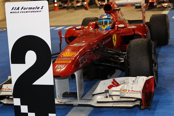 GP de Abu Dhabi 2011.