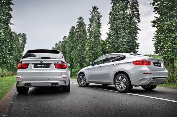 BMW X5 M y X6 M Individual.