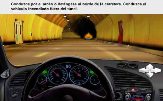 Incendio túnel