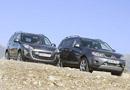 Peugeot 4007 2.2 HDI y Mitsubishi Outlander 2.0 DI-D
