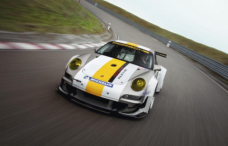 Porsche 911 GT3 RSR 2011.