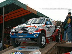 Arranca el Dakar-El Cairo 2000
