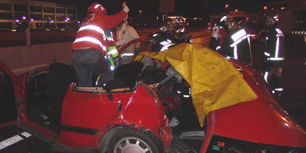 Cada muerte en carretera cuesta en España 150.000 euros