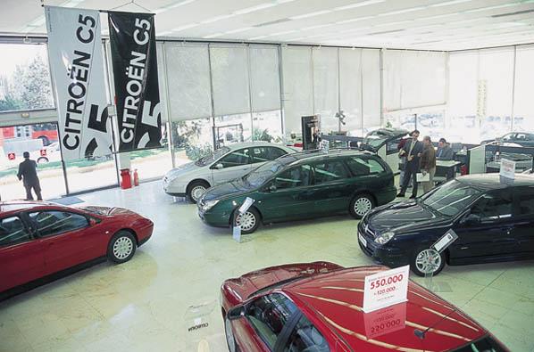 Las automatriculaciones, las 'subprime' del motor