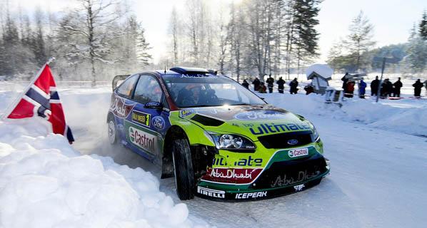 WRC: Rally de Suecia 2010