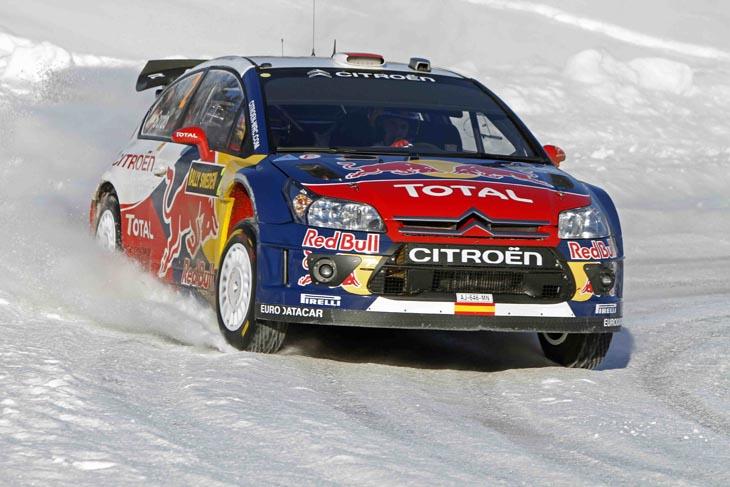 Rally de Suecia 2010.