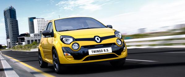 Renault Twingo RS, renovado aspecto deportivo