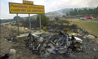 Accidente Castellón