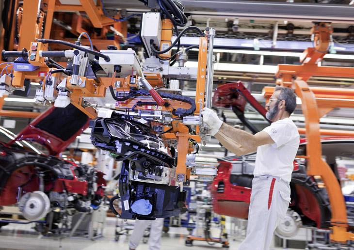 Así se fabrican los Audi