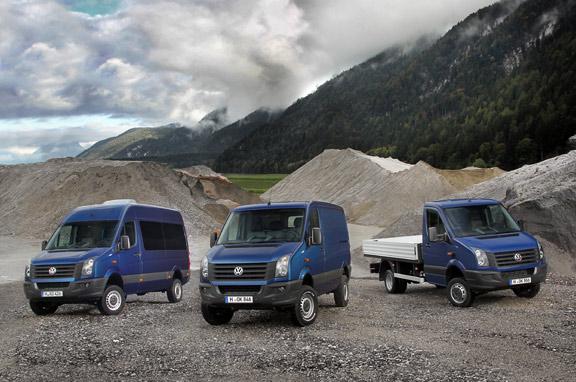 Volkswagen Crafter y Rockton 4Motion
