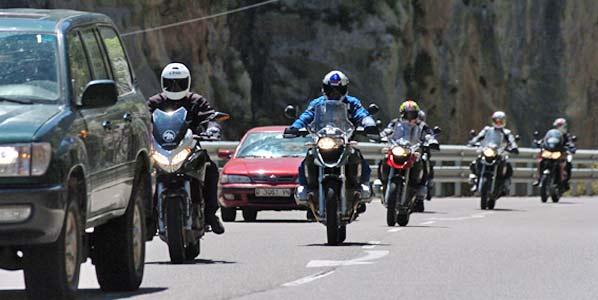 Las motos más potentes pagarán más