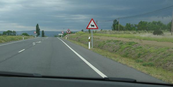 La señalización vial, sin presupuesto