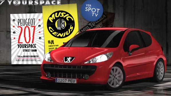 Peugeot 207 Yourspace