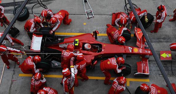 F1: Cambios en la dirección de Ferrari