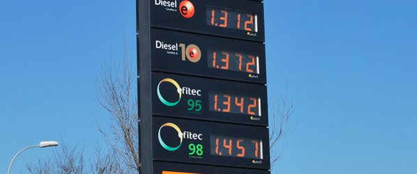 No repostar por el alto precio del combustible