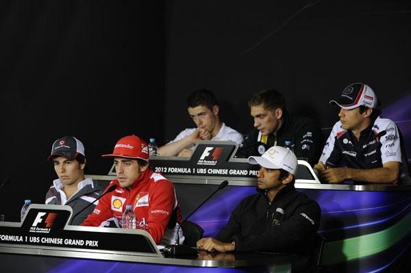 Rueda de prensa oficial de la FIA del jueves