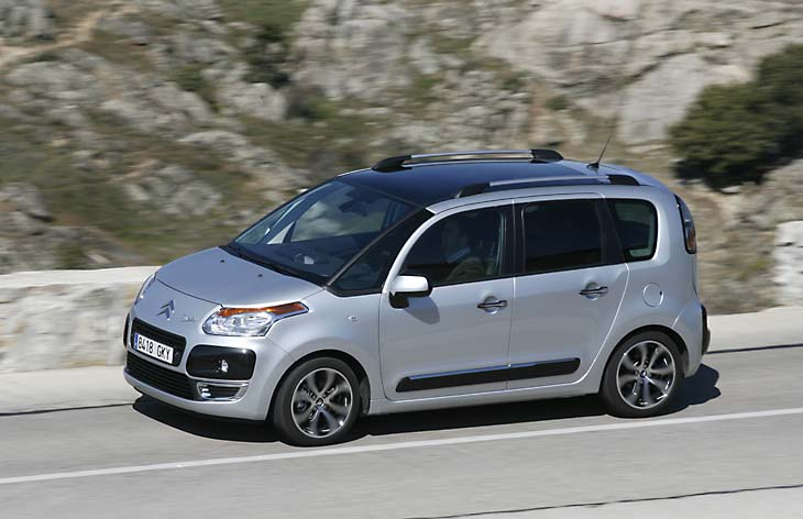 Citroën C3 Picasso 1.6 HDi/110 FAP Airdream Exclusive