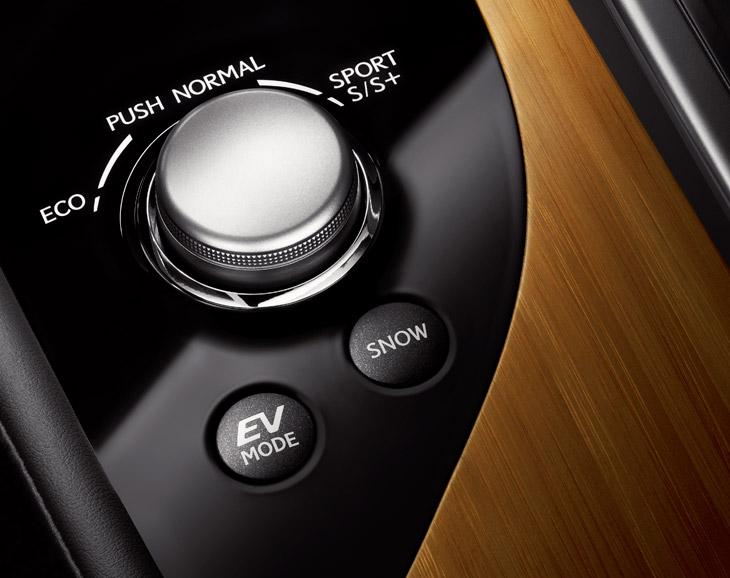 Lexus GS 450h, el contacto