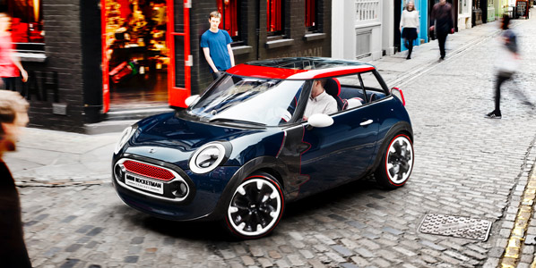 Mini actualiza el concept Rocketman