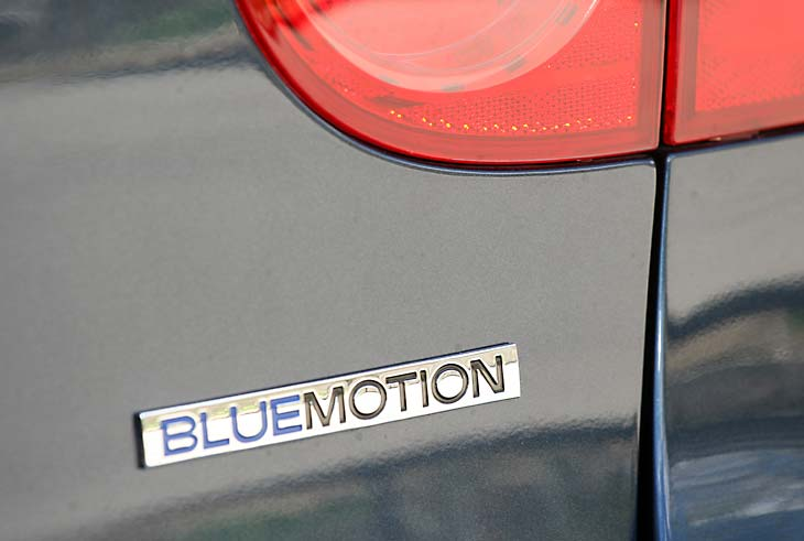 VW Golf Bluemotion CO2 Neutral detalles