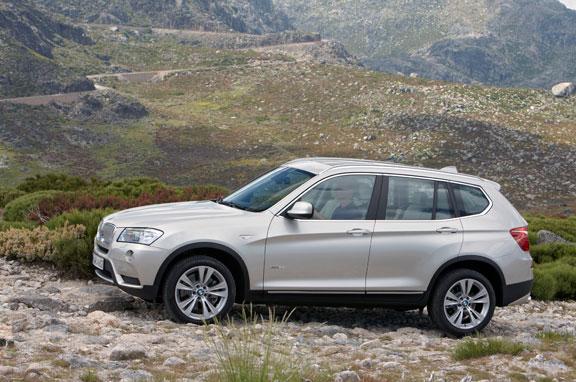 El nuevo BMW X3, al descubierto