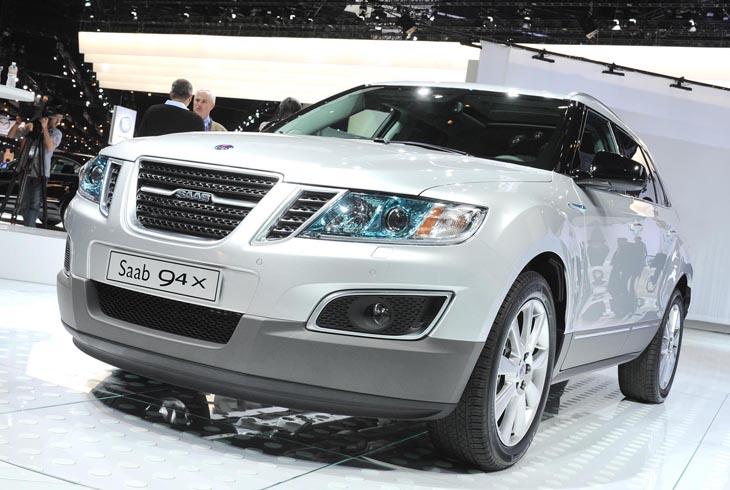 Nuevo Saab 9-4X.