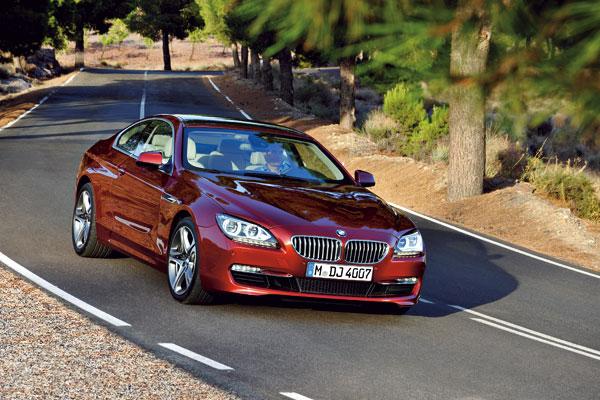 BMW Serie 6 Coupé el contacto