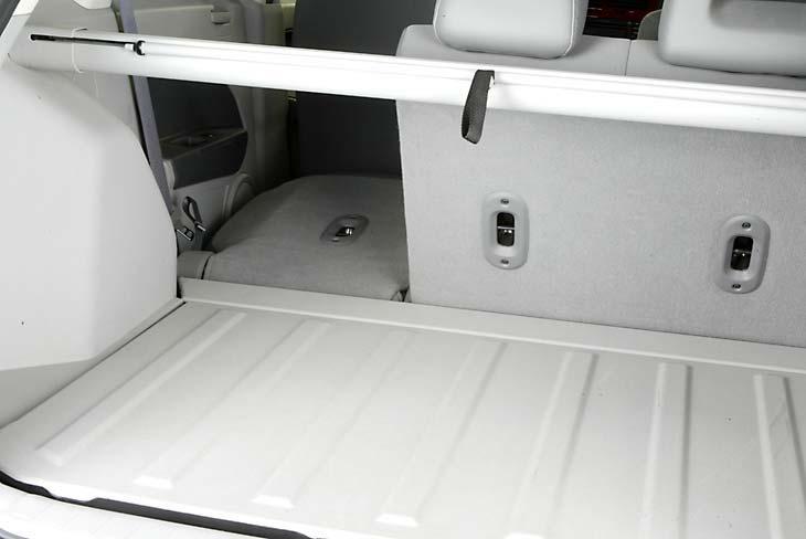Acceso al maletero desde el interior.