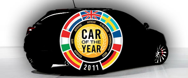 Candidatos para 'Car Of The Year 2011'