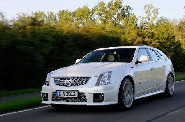 Cadillac CTS-V Sport Wagon el contacto