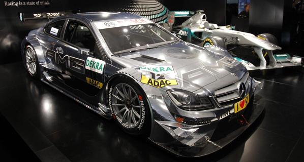 Presentado el Mercedes del DTM