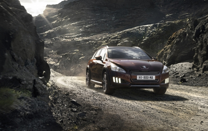 Peugeot 508 RXH Limited Edition.