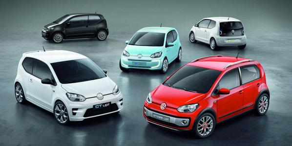 Volkswagen up!: la familia crece