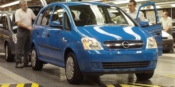 El nuevo Meriva se producirá en Figueruelas