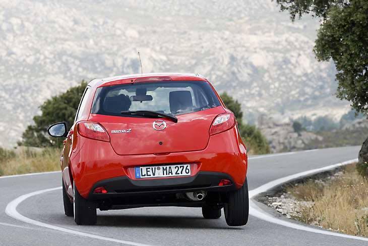 Mazda2 en movimiento