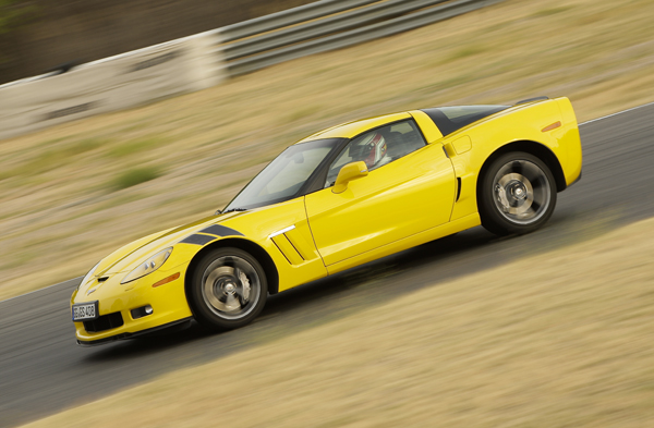 Chevrolet Corvette la prueba