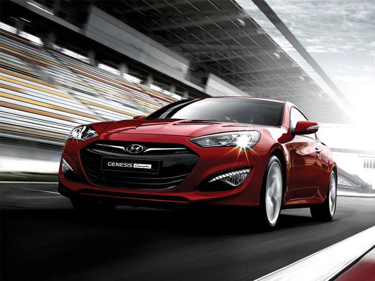 Nuevo Hyundai Genesis Coupé.