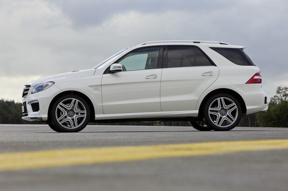 Mercedes ML 63 AMG, un SUV de altos vuelos
