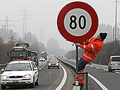 El Congreso estudia aumentar los límites de velocidad