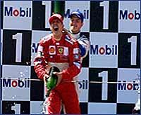 Schumacher no se considera campeón todavía