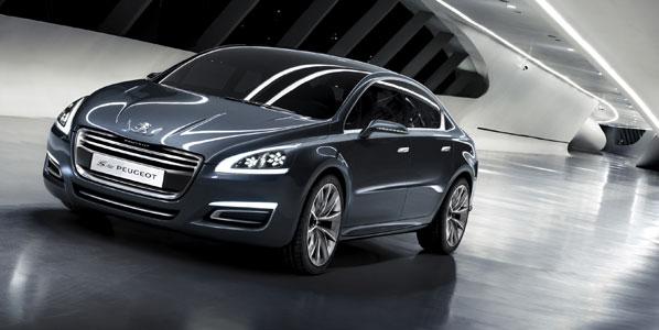 Concept 5 by Peugeot, ¿el sustituto del 407?