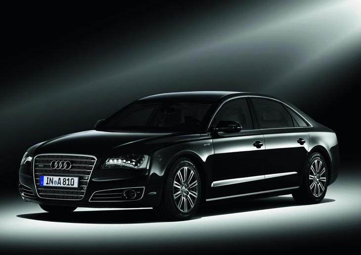 Audi A8 L High Security.