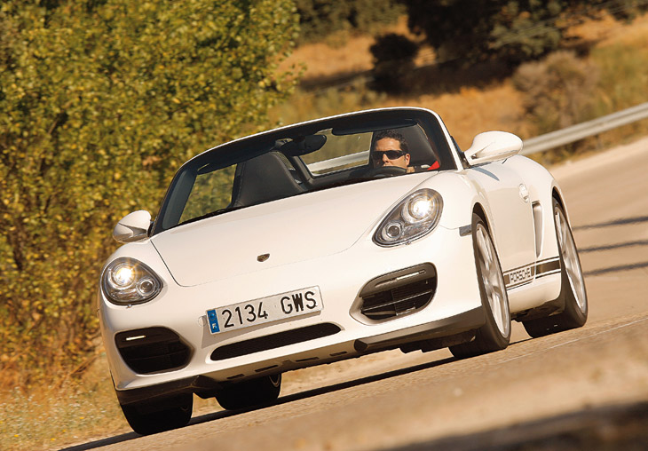 Porsche Boxster Spyder, la prueba