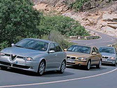 Alfa 156 GTA / BMW 330i / Volvo S60 T5