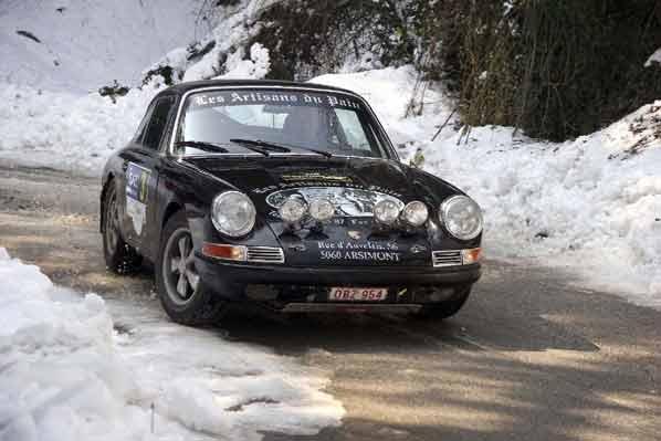 Mucha nieve y un belga