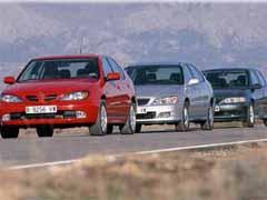 Honda Accord 2.0i ES / Nissan Primera 2.0 Sport / Opel Vectra 2.0 Sport