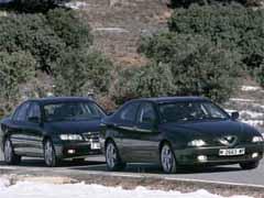 Alfa 166 3.0 V6 24V / Opel Omega 3.0 V6 Executive